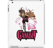 super card magic gambit iPad Case/Skin
