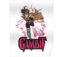super card magic gambit Poster