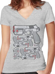 PS1 Namco GameCon Controller - Revive2 Women's Fitted V-Neck T-Shirt