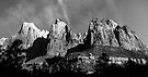 Court of the Patriarchs in Zion Canyon. by Alex Preiss