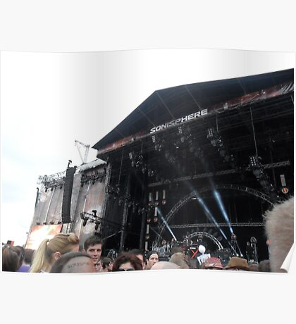 Lights and Sounds - Sonisphere 2014 Poster