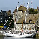Honfleur Harbour by Marilyn Harris