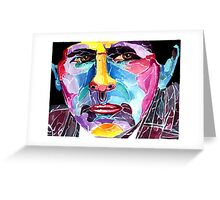 Seventh Doctor from Doctor who / Sylvester McCoy Greeting Card