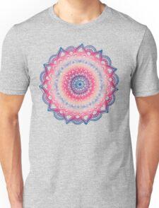 Ocean Sunset Mandala Unisex T-Shirt