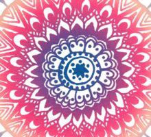Ocean Sunset Mandala Sticker