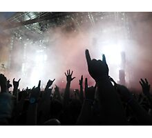 Hands to the Sky - Sonisphere 2014 Photographic Print