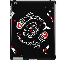 Abstract fishes iPad Case/Skin