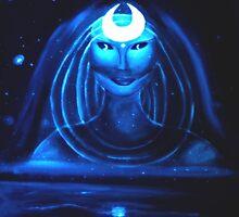 MOON GODDESS by astralfantastic