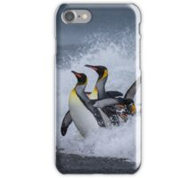 King Penguins Arrive iPhone Case/Skin