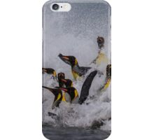 King Penguin Arrival iPhone Case/Skin