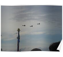 Dogfight over Knebworth - Sonisphere 2014 Poster