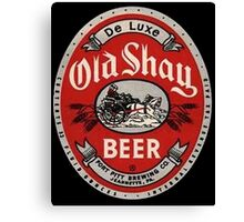 Old Shay Beer Canvas Print