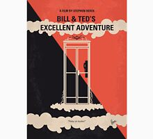 No490 My Bill and Teds Excellent Adventure minimal movie poster Unisex T-Shirt