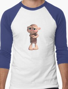 Gus Character Full Body Men's Baseball ¾ T-Shirt