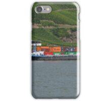 Container Barge Hirschhorn iPhone Case/Skin