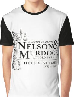 Daredevil Attorneys at Law Graphic T-Shirt