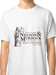 Daredevil Attorneys at Law Classic T-Shirt