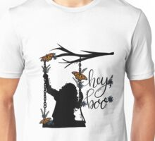 To Kill A Mockingbird, inspired silloette - Hey, Boo. Unisex T-Shirt
