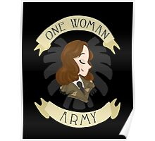 one woman army Poster