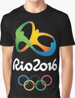 Rio 2016 Olympics Games Graphic T-Shirt