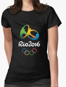 Rio 2016 Olympics Games Womens Fitted T-Shirt