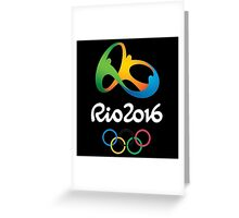Rio 2016 Olympics Games Greeting Card