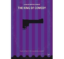 No496 My The King of Comedy minimal movie poster Photographic Print