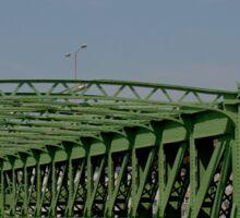 Schemerlbrücke, Vienna Austria Sticker
