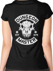 Dungeon Master - D&D Dungeons & Dragons Women's Fitted Scoop T-Shirt