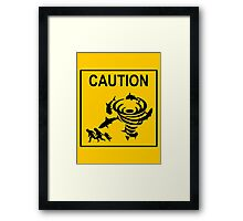 Sharknado Crossing Framed Print