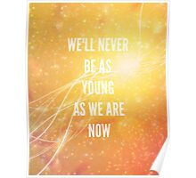 NEVER BE, 5sos (sunset orange) ASSORTED ITEMS Poster