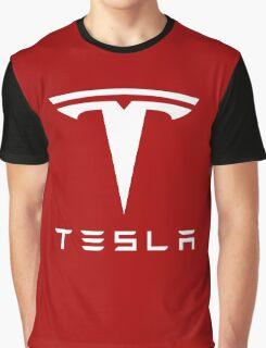 Tesla Motors Graphic T-Shirt