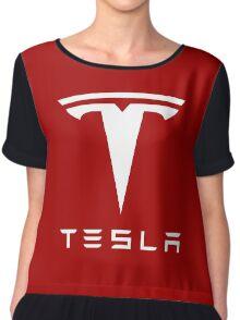 Tesla Motors Chiffon Top