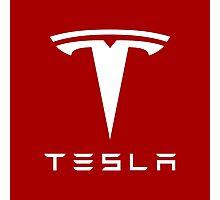 Tesla Motors Photographic Print