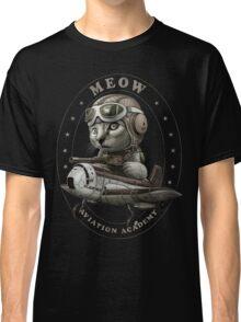 MEOW AVIATION ACADEMY Classic T-Shirt