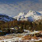 Elterwater Village by Jamie  Green