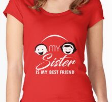 Sister Love Women's Fitted Scoop T-Shirt