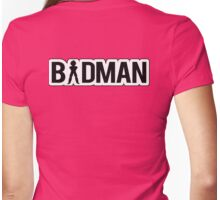 Badman Vegeta Womens Fitted T-Shirt