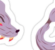 Wolf Hat Sticker