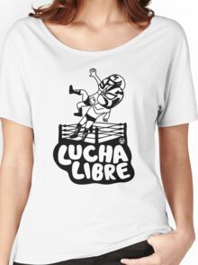 mexican wrestling lucha libre16 Women's Relaxed Fit T-Shirt