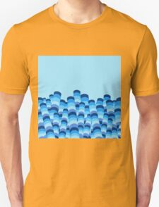 Waves in Abstract Unisex T-Shirt