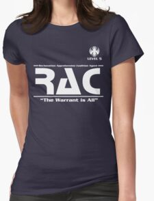 Reclamation Agent - Level 5 Womens Fitted T-Shirt