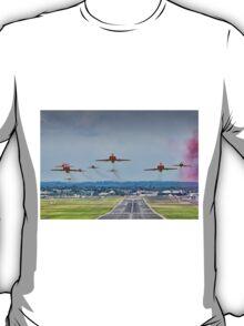 Red Arrows Take Off HDR - Farnborough 2014 T-Shirt