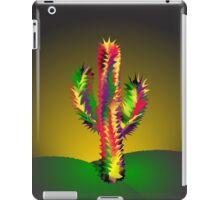 Cactus In Desert Night iPad Case/Skin