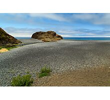 Black Sand Beach On The Lost Coast Photographic Print