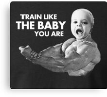 Baby Training Canvas Print