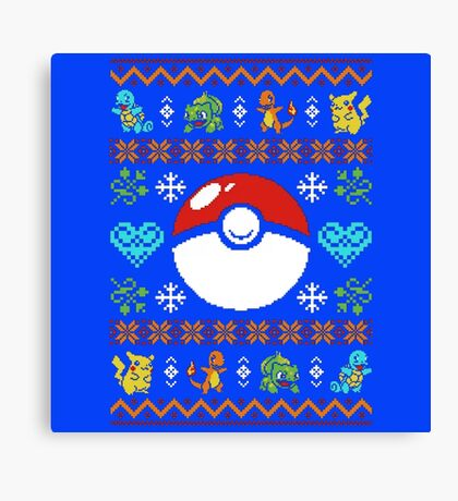 Knitted Poke Canvas Print
