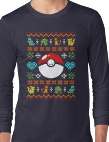 Knitted Poke Long Sleeve T-Shirt