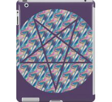 hologram pentagram iPad Case/Skin
