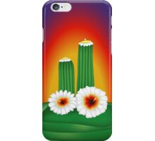 Blooming Cactus iPhone Case/Skin